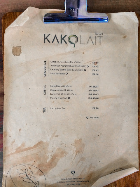 menu kakolait the breeze