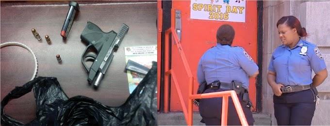 Policía confisca pistola en escuela de Brooklyn a niño de 8 y arresta al propietario de 13