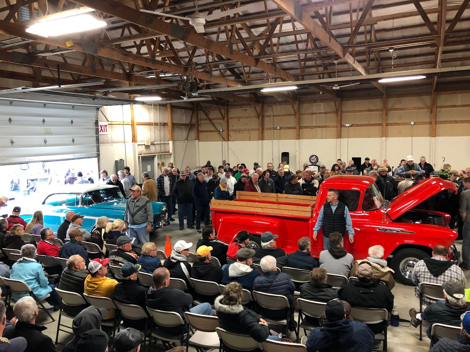 Indiana Car Auction >> My Amish Indiana The Hooley Classic Car Auction