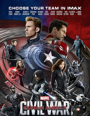 Poster Of Captain America Civil War 2016 Full Movie In Hindi Dubbed Download HD 100MB English Movie For Mobiles 3gp Mp4 HEVC Watch Online