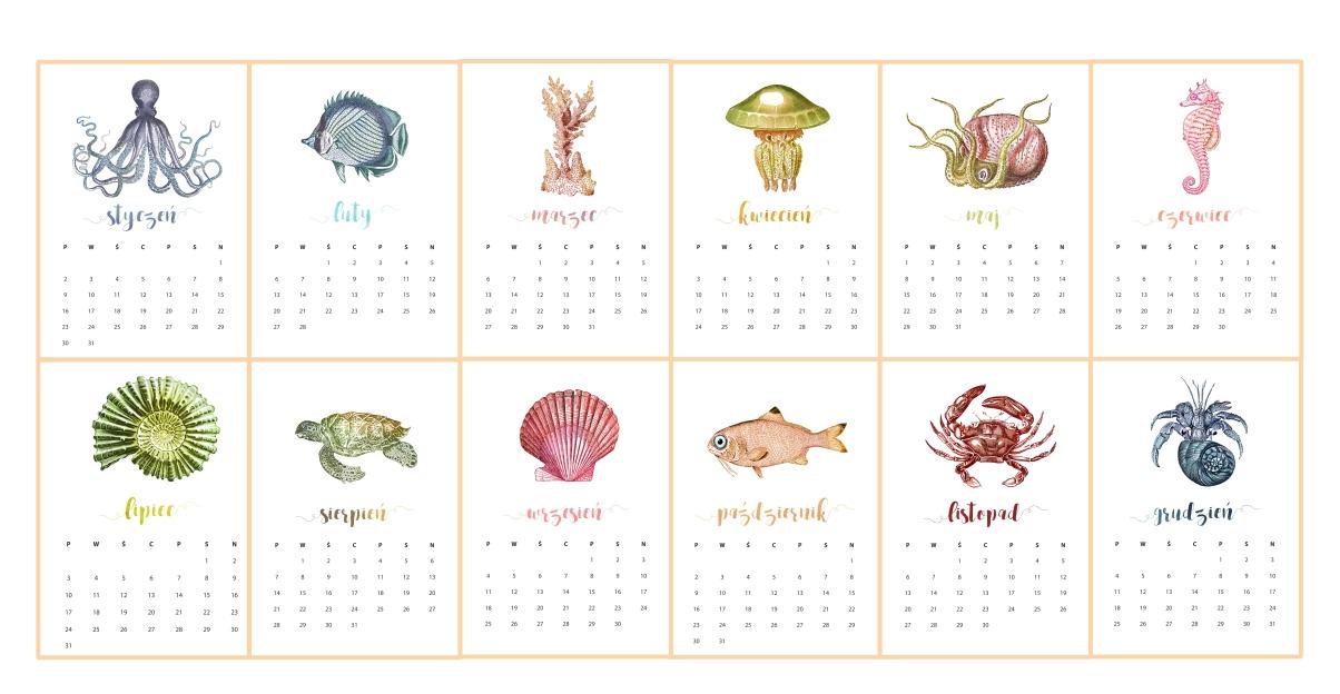 Kalendarz 2019 Do Druku Pdf Piafka