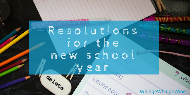 Resolutions for the new school year