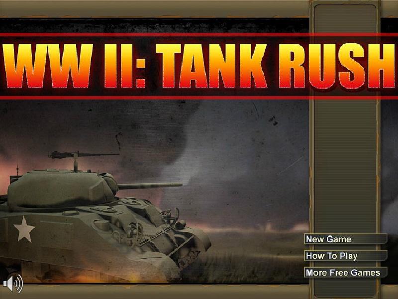 WW2 Tank Rush Play Free Online Fun Game