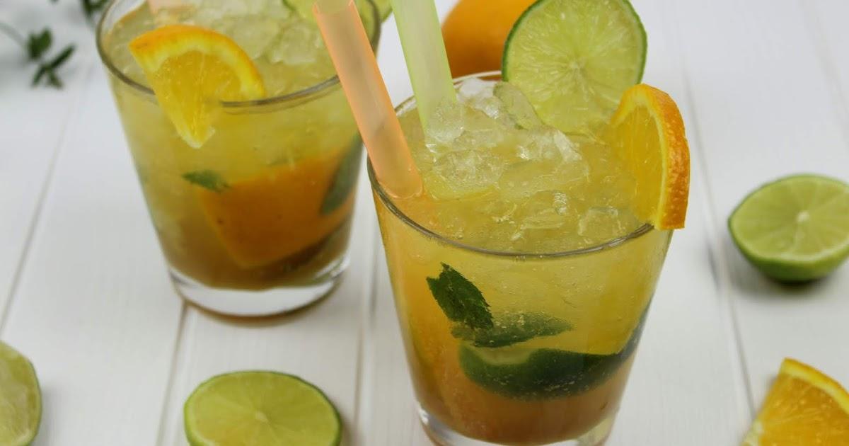 rezept super leckerer orangen mojito cocktail ganz einfach selber machen mit sinalco orange. Black Bedroom Furniture Sets. Home Design Ideas