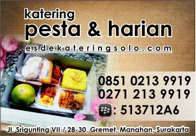 Usaha Katering Pesta & Harian - esdekateringsolo.com