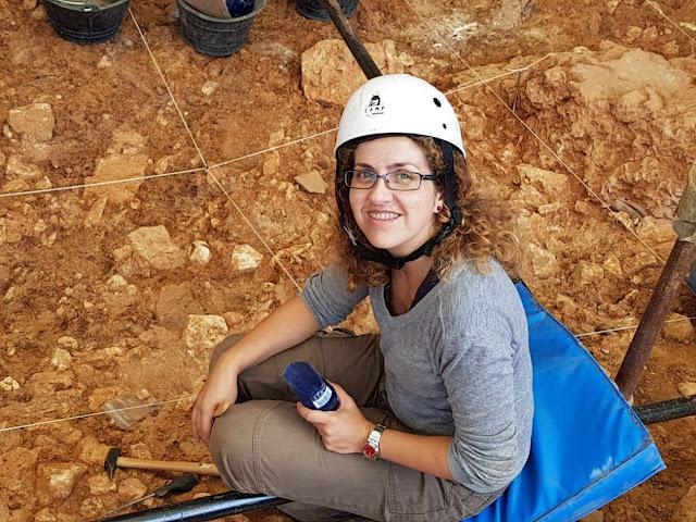 Marina Lozano, investigadora del IPHES que ha liderado el estudio. Foto: Xosé-Pedro Rodríguez