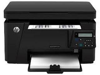 Image HP LaserJet Pro MFP M126nw Printer