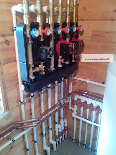 коллектор системы отопления на 3 выхода