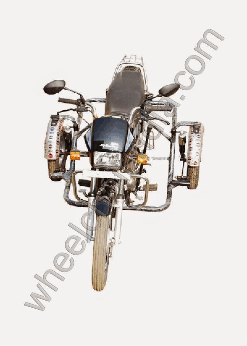 Side Wheel Attachment Hero Splendor