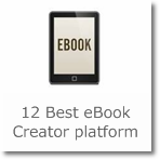 12 Best eBook Creator platform