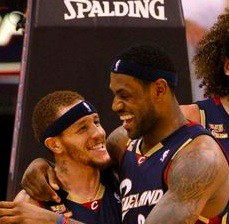 Delonte west fucked lebrons mom