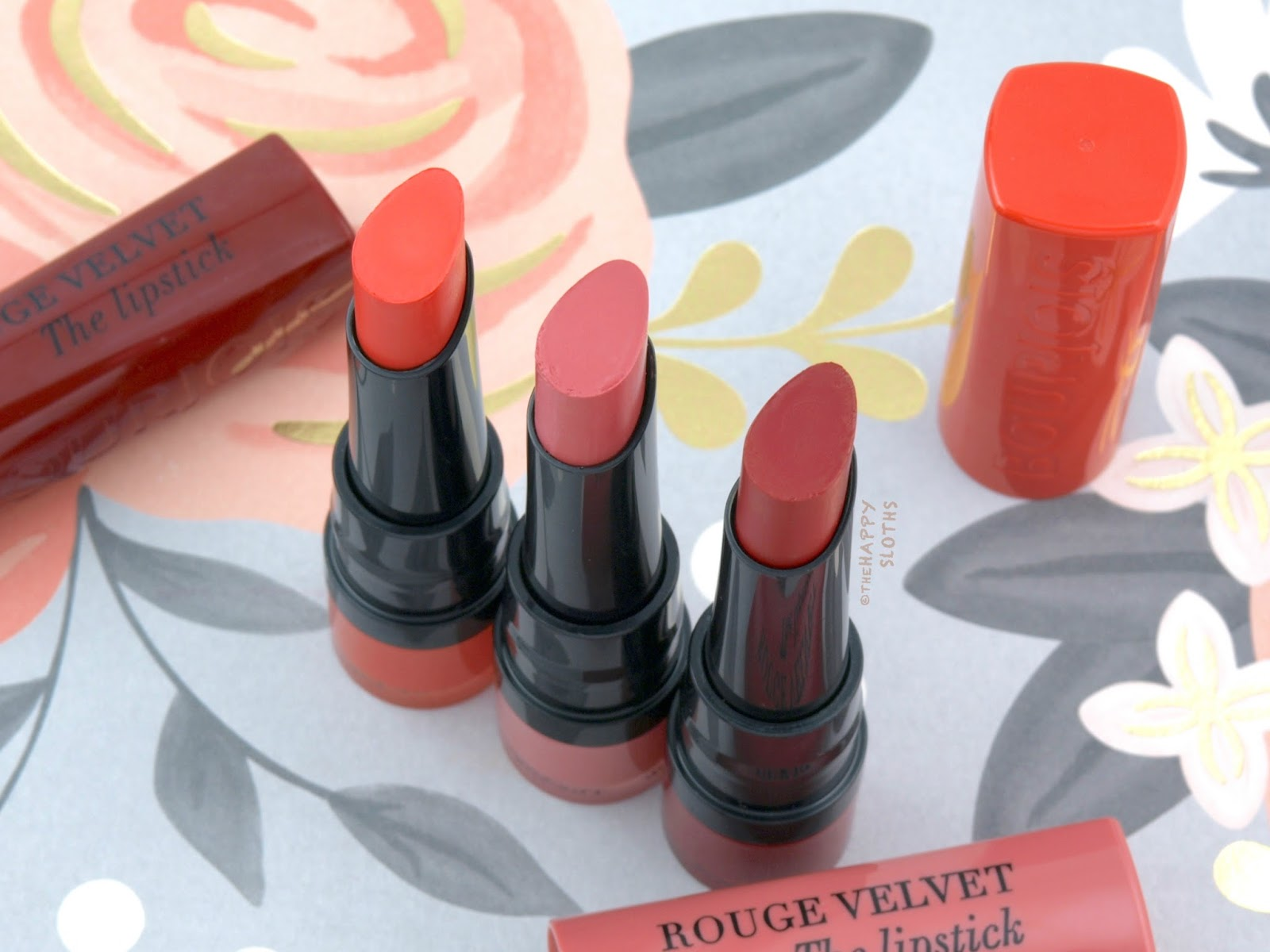 Bourjois | Rouge Velvet The Lipstick: Review and Swatches