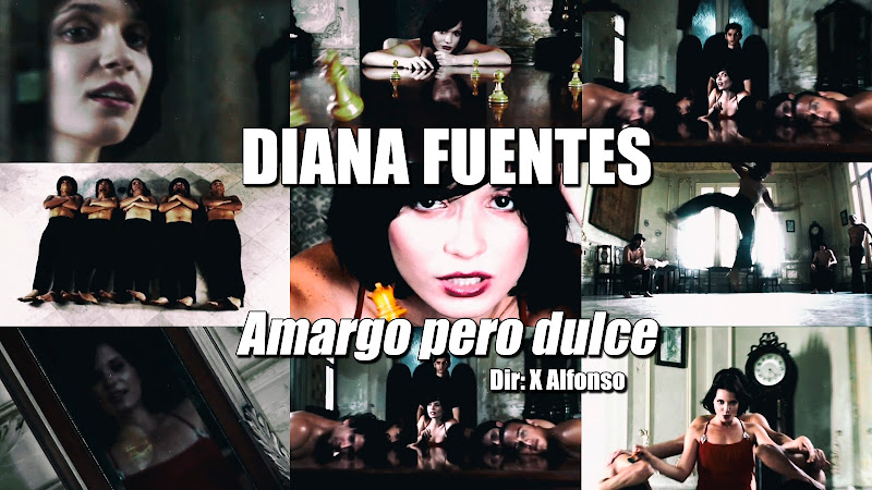 Diana Fuentes - ¨Amargo pero dulce¨ - Videoclip - Dirección: X Alfonso. Portal del Vídeo Clip Cubano