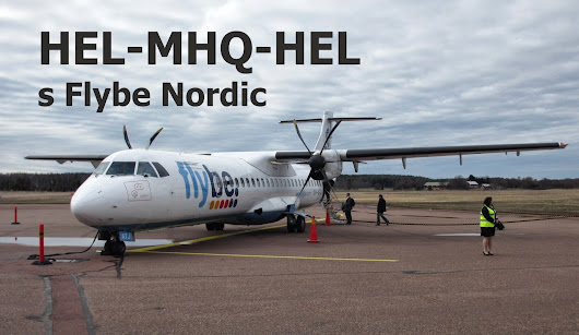 Sharp Wings: S Flybe Nordic na Ålandy