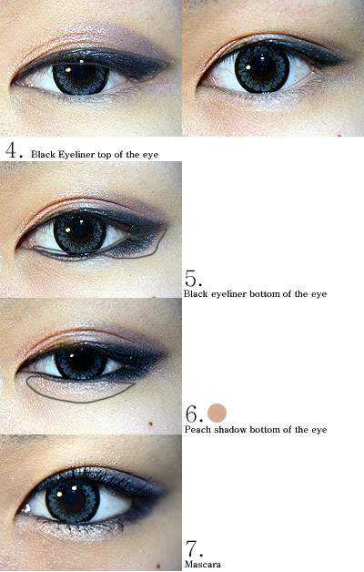 Miss Vixen S Vanity Korean Eye Makeup Looks How To