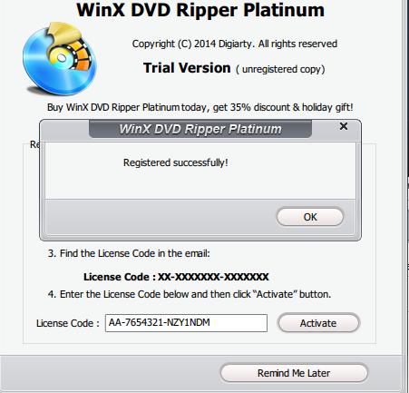 WinX DVD Ripper Platinum 6 0 2 kasimji