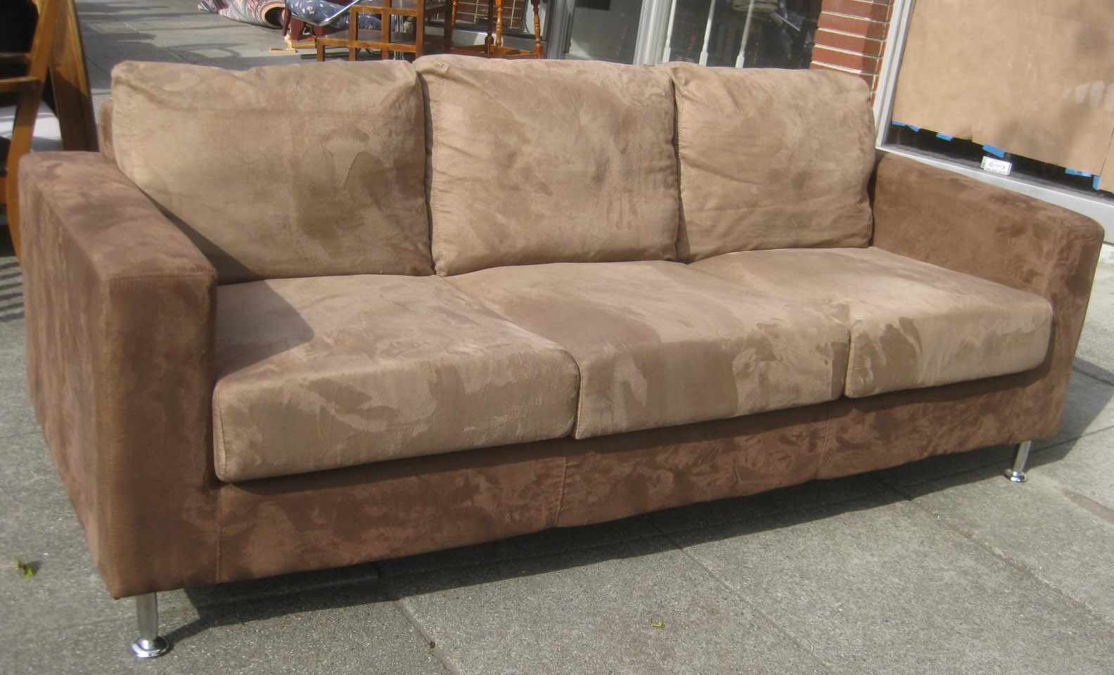 Brown And Beige Sofa Set For Sale By Owner Uhuru Furniture Collectibles Sold Tan