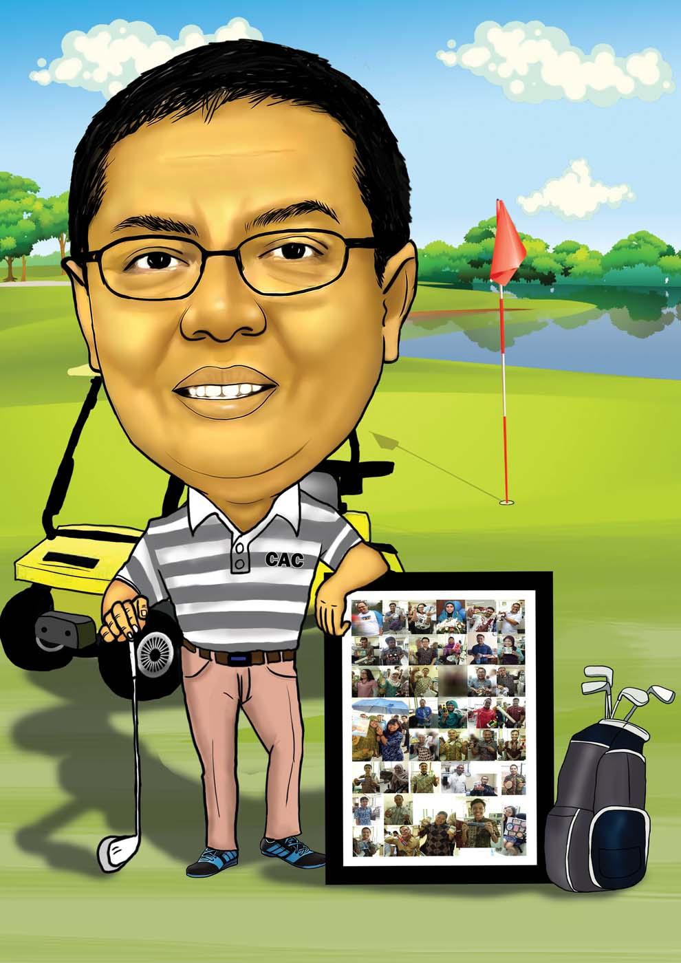 Jasa Karikatur Wajah Karikatur Digital Dan Manual 2018
