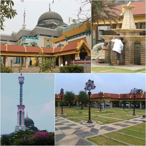 Rindu Masjid Masjid Jakarta Islamic Center Jic