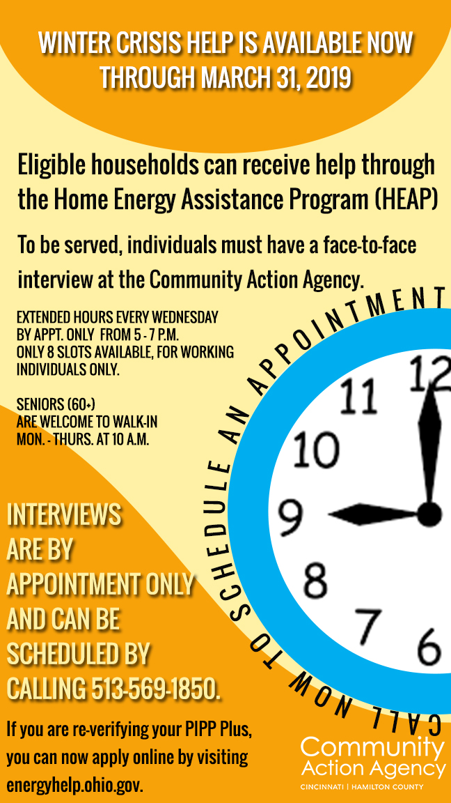 Home Energy Assistance Winter Crisis Program (HEAP)