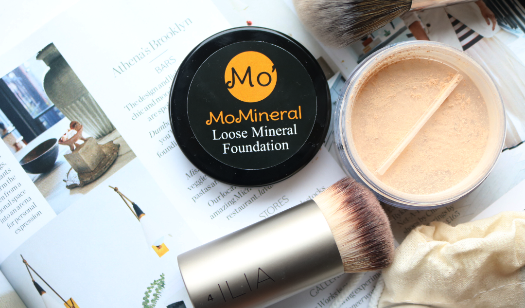 MoMineral - Loose Mineral Foundation and Mattifying Setting Powder review