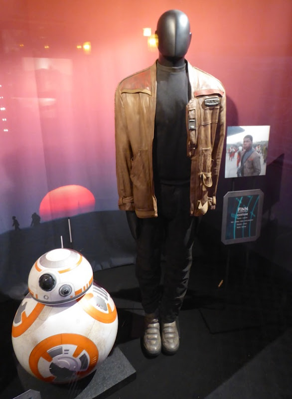 Star Wars Force Awakens Finn movie costume