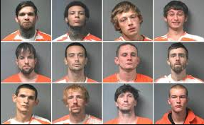 12 inmates use peanut butter to make escape from jail