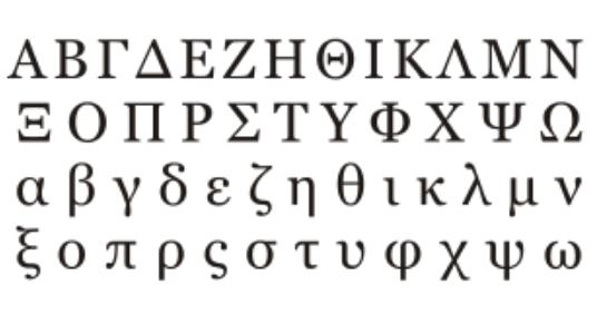 Gambar abjad yunani