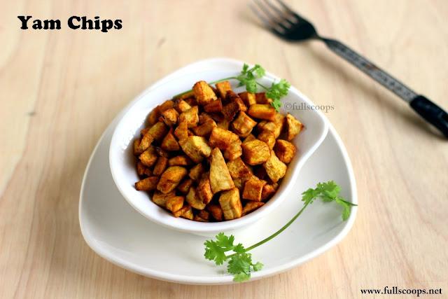 Homemade Yam Chips