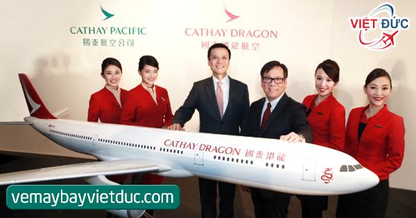 bán vé khuyến mãi Cathay Pacific & Cathay Dragon đi Bắc Mỹ
