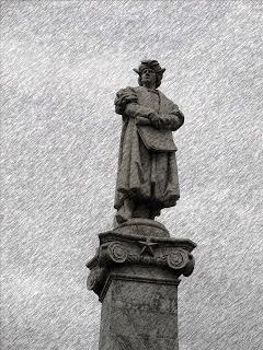 Close de Cristóvão Colombo, em Buenos Aires