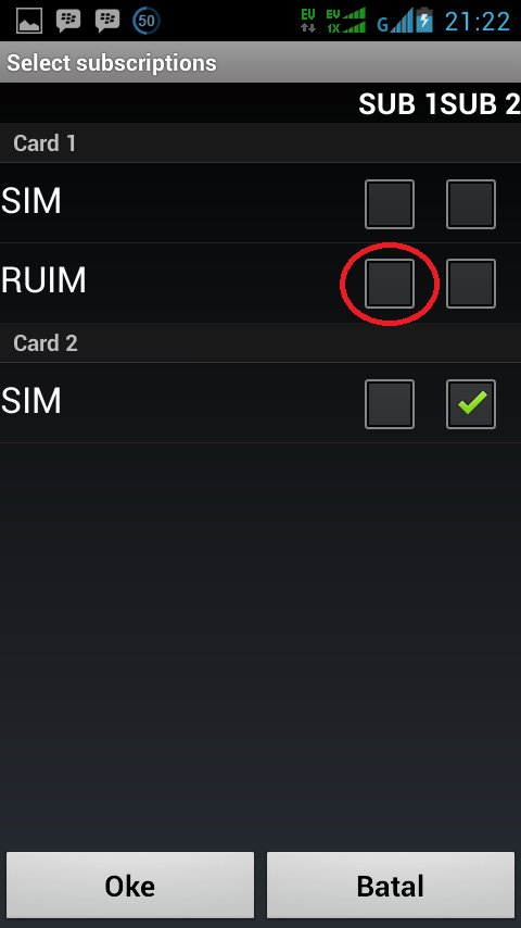 Cara Menggunakan Internet Dengan GSM di Semua Andromax