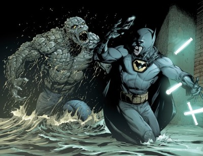 killer croc ambushed batman in batman earth one