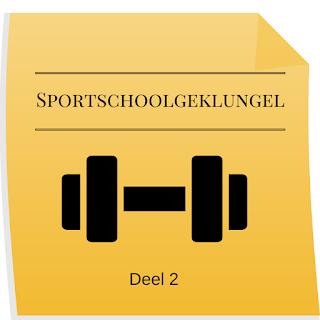 Geklungel in de sportschool