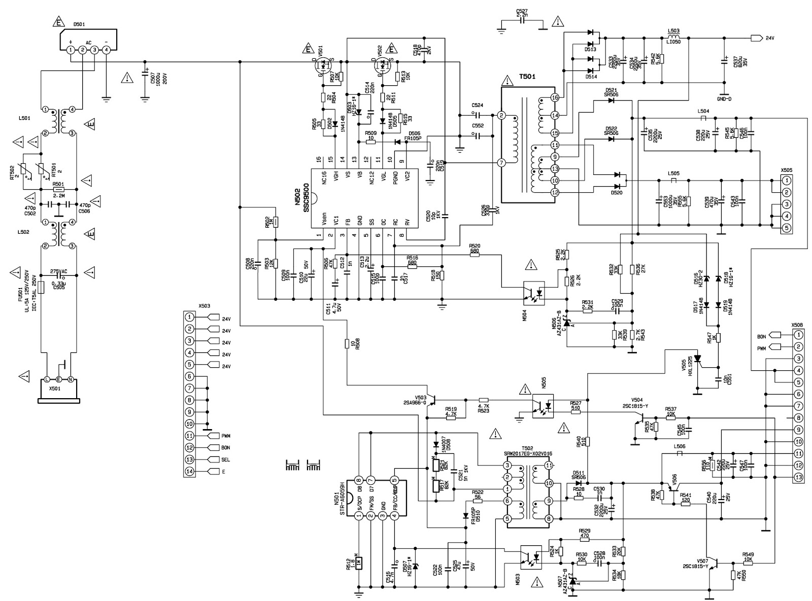 Xoceco And Dynex Dx 32l150a11 Initialization Smps Schematic Service Mode Wb Adjustment And