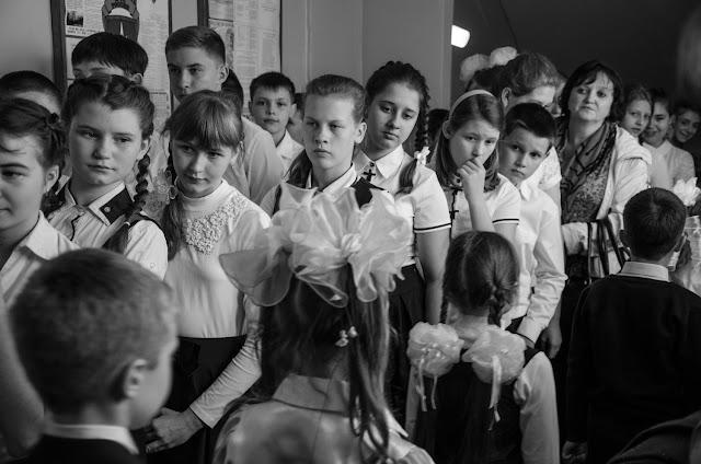 детская коллективная фотография