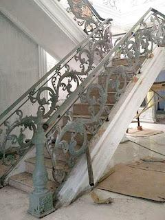 Railing Tangga Besi, railing tangga tempa tangga besi tempa minimalis railing tangga besi tempa