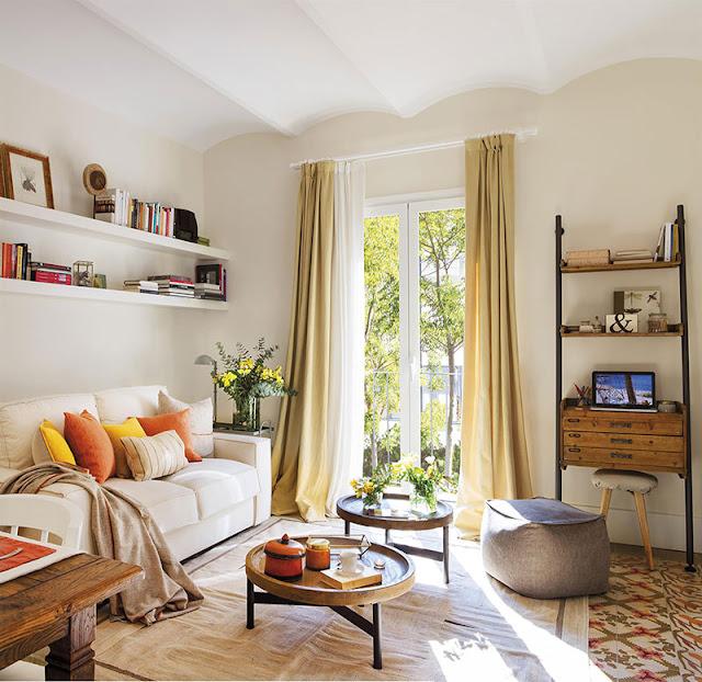 Accente vintage într-un apartament de 60 m²