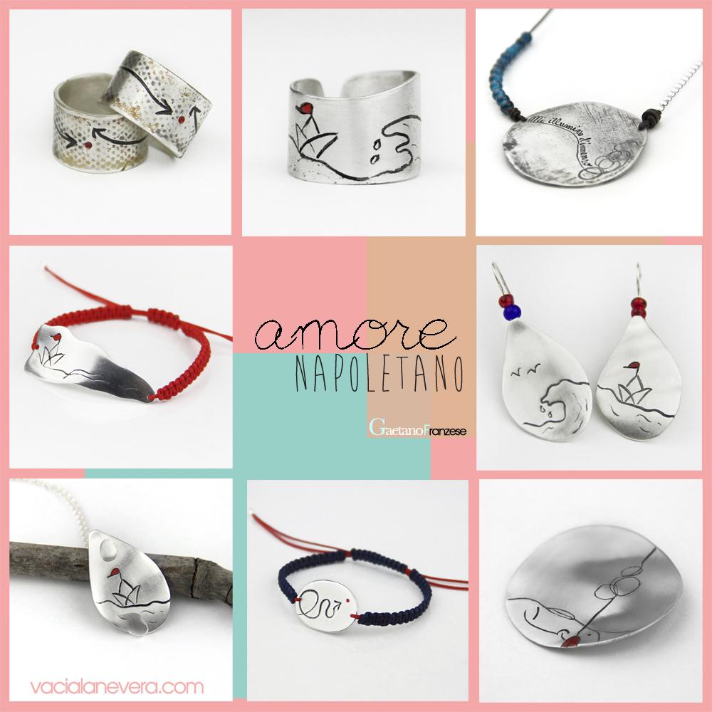 Colección de joyas Amore Napoletano