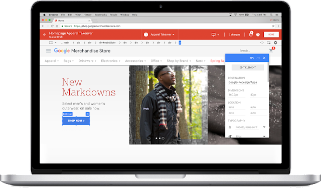Easy to use google optimize