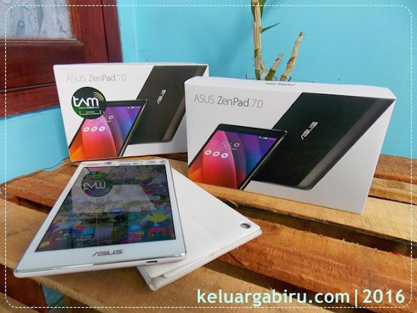 ASUS ZenPad 7.0 Z370CG : Senjata Andalan Blogger Kekinian