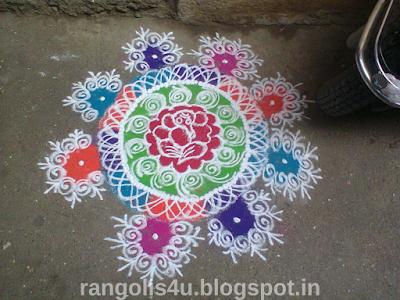 Sankashti Chaturthi Rangolis