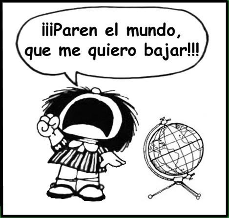 Mafalda, paren el mundo