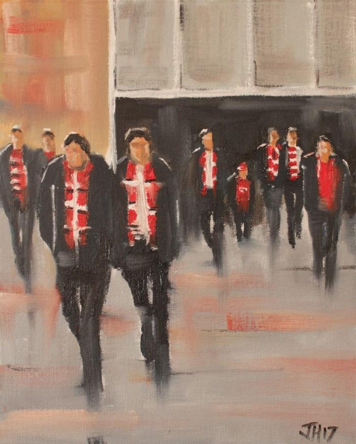 Британский художник. John Halliday 13