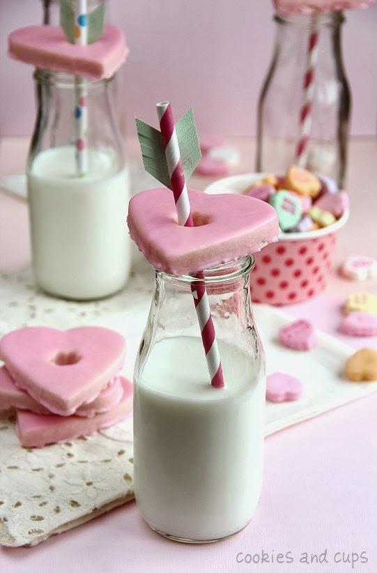 galletas de corazón san valentin