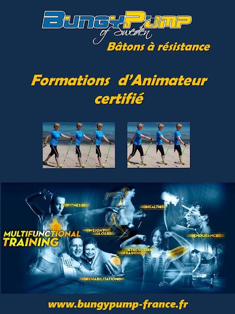 Formations pour devenir Animateur ou Instructeur de Bungy Pump certifié BPWA flyer page 1