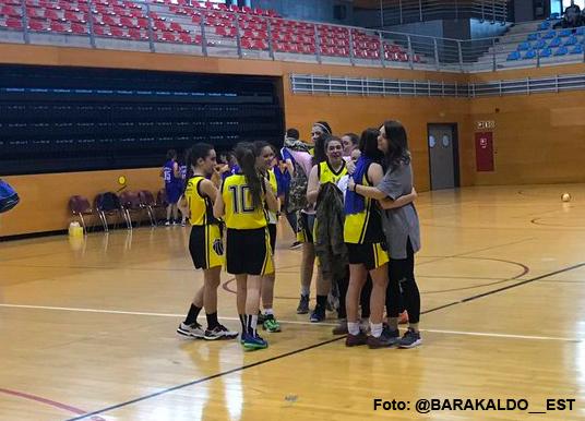 Baloncesto | Las junior del Barakaldo EST, subcampeonas de Copa tras perder con el Padura