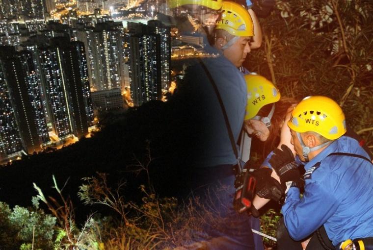 Hiker Wanita Terpeleset Sedalam 15 Meter Saat Mendaki di Maclehose Trail Stage 5