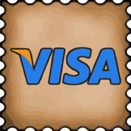 visa stamp icon