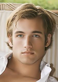 güzel yüzlü yakışıklı erkekler